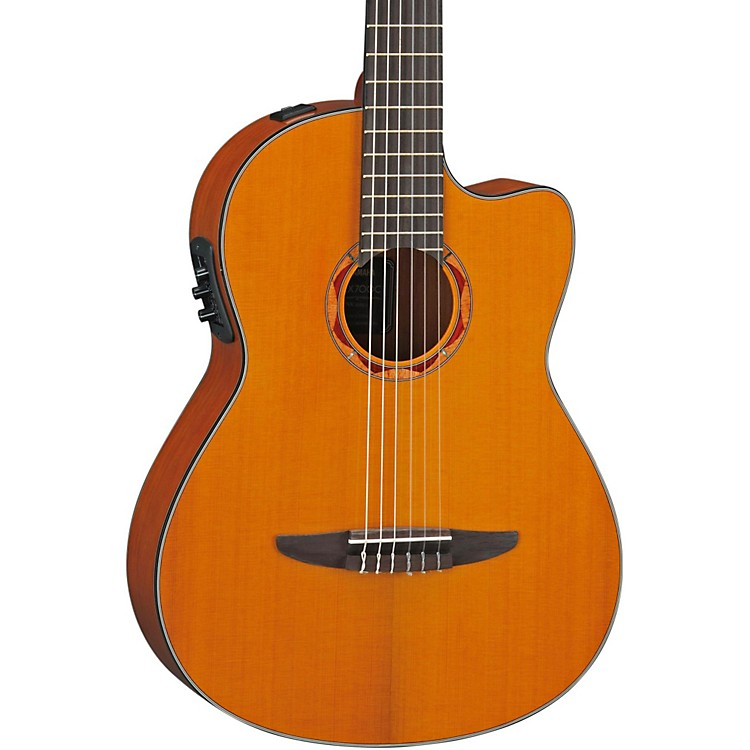 YamahaNCX700C Classical Acoustic-Electric Guitar with Cedar Top