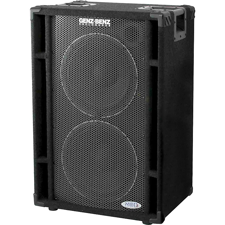Genz BenzNEOX-212T 600W 2x12 Bass Cabinet
