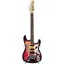 Woodrow Guitars NFL 10-In Mini Guitar Collectible Arizona Cardinals