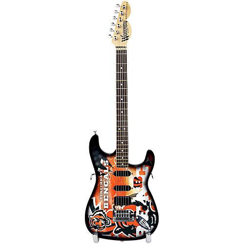 Woodrow Guitars NFL 10-In Mini Guitar Collectible-thumbnail