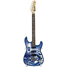 Woodrow Guitars NFL 10-In Mini Guitar Collectible Indianapolis Colts