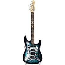Woodrow Guitars NFL 10-In Mini Guitar Collectible Philadelphia Eagles