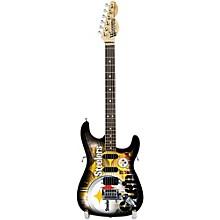 Woodrow Guitars NFL 10-In Mini Guitar Collectible Pittsburgh Steelers