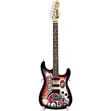 Woodrow Guitars NFL 10-In Mini Guitar Collectible San Francisco 49ers