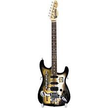 Woodrow Guitars NFL 10-In Mini Guitar Collectible Super Bowl 50