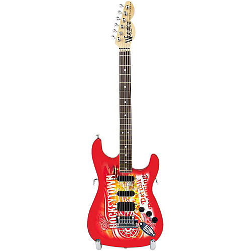 Woodrow Guitars NHL 10 Inch Mini Guitar Collectible-thumbnail