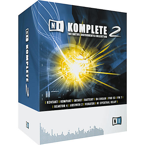 Native Instruments NI Komplete 2: The Native Instruments Collection