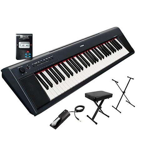 Yamaha NP11AD Stand, Bench, Metronome Package