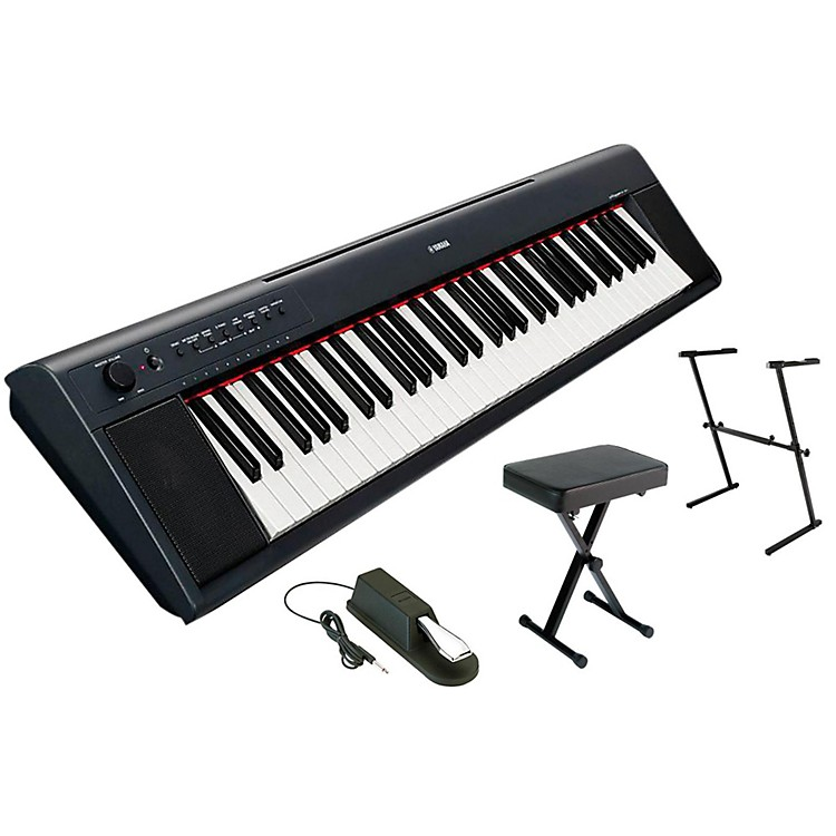 YamahaNP11AD Stand, Bench, Pedal Package
