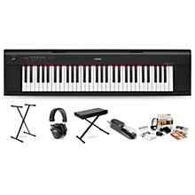 Yamaha NP12 with Headphones, Bench, Stand and Sustain Pedal