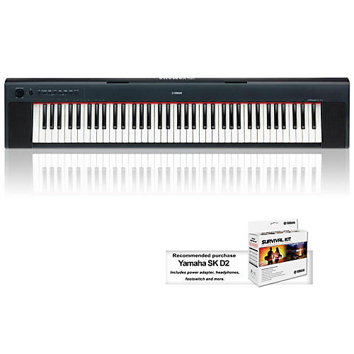 Yamaha NP31 76-Key Mid-Level Piaggero Ultra-Portable Digital Piano