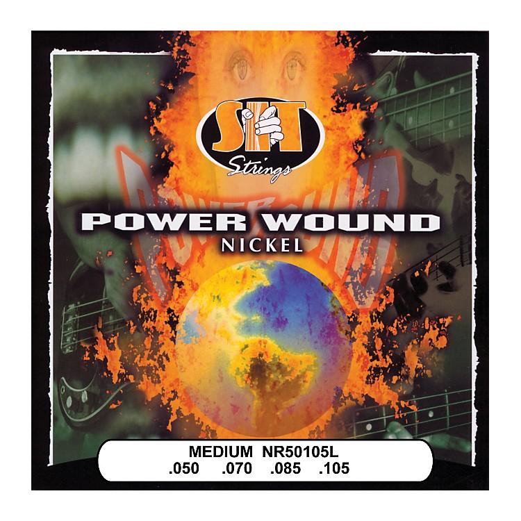 SIT StringsNR50105L Medium Power Wound Nickel Bass Strings