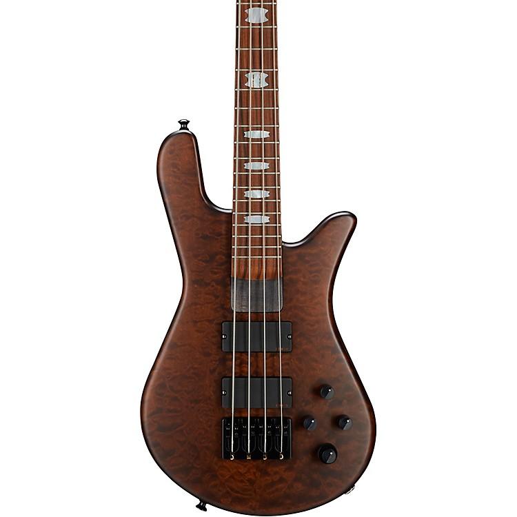 SpectorNS-4H2-FM USA 4-String Bass GuitarWalnut StainBlack Hardware