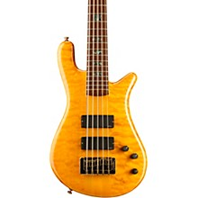 Spector NS-5XL USA 5-String Bass Golden Stain Gold Hardware