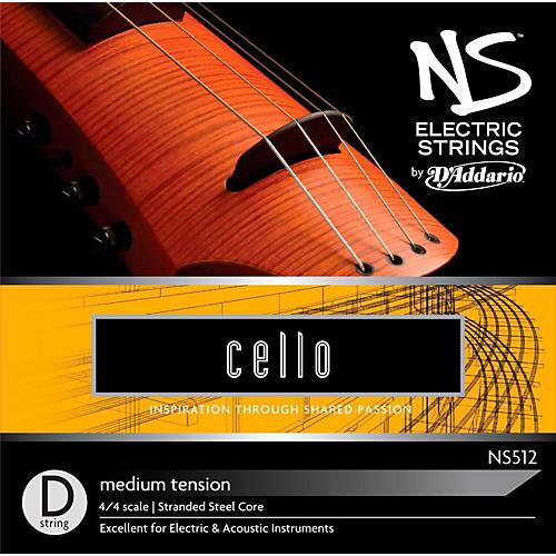 D'Addario NS Electric Cello D String-thumbnail