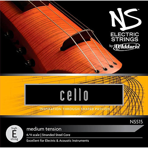 D'Addario NS Electric Cello High E String-thumbnail