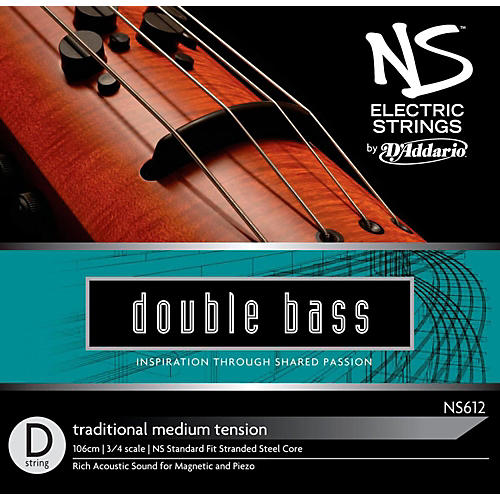D'Addario NS Electric Traditional Bass D String-thumbnail
