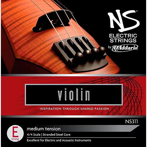 D'Addario NS Electric Violin E String-thumbnail