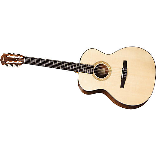 Taylor NS24-E-G-L Grand Auditorium Left-handed Nylon-String Acoustic-Electric Guitar
