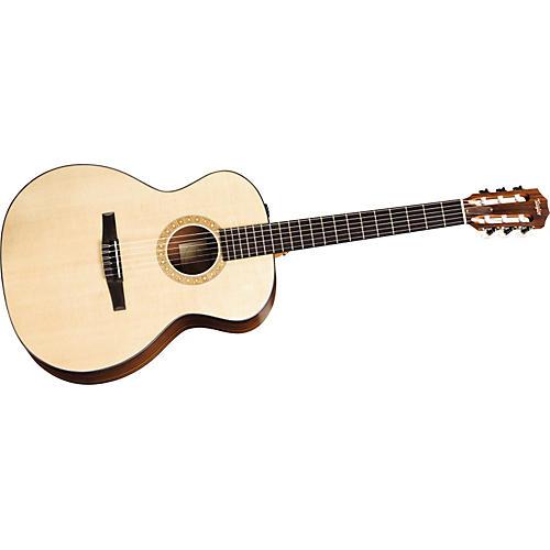 taylor ns24e nylon string grand auditorium acoustic electric guitar musician 39 s friend. Black Bedroom Furniture Sets. Home Design Ideas