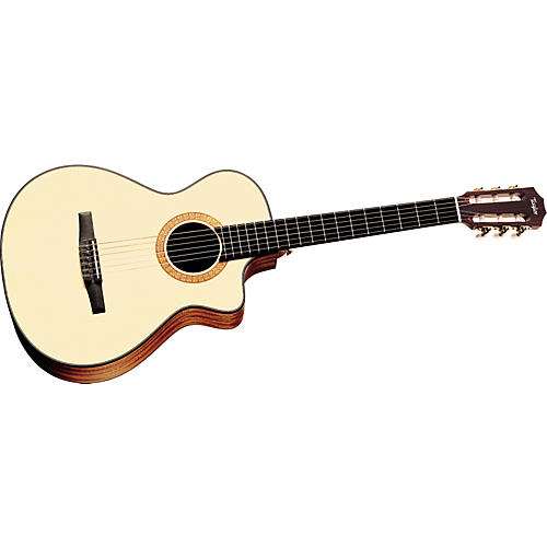 Taylor NS32-CE Nylon String Grand Concert Cutaway Acoustic-Electric Guitar (2010 Model)