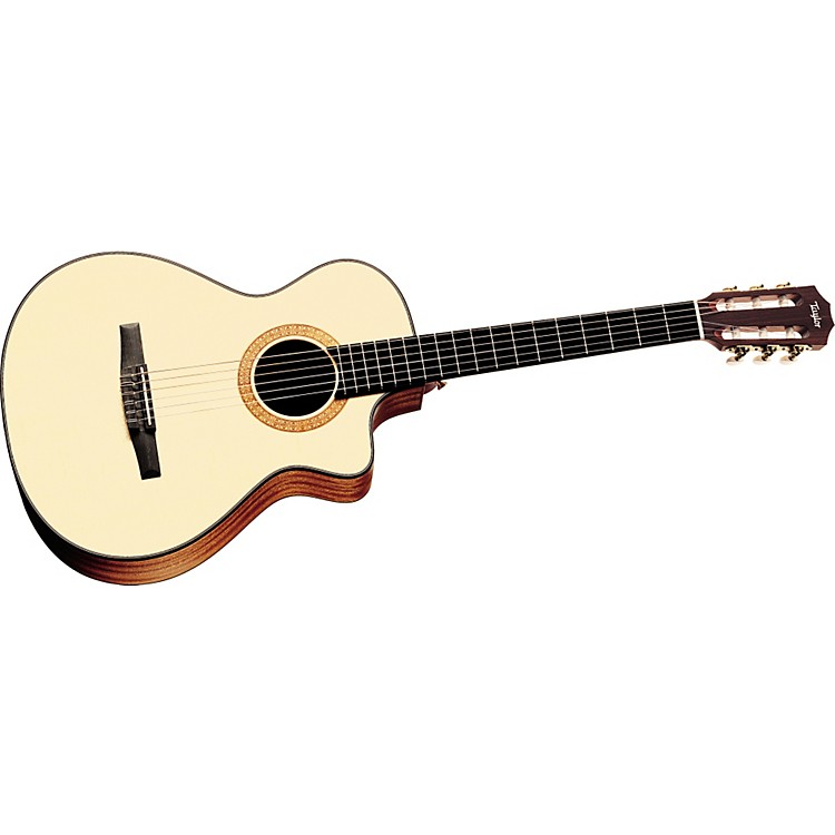 TaylorNS32-CE Nylon String Grand Concert Cutaway Acoustic-Electric Guitar (2010 Model)
