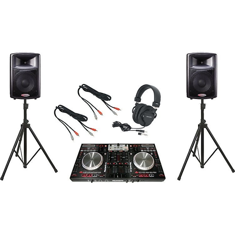Numark NS6 / Harbinger APS12 DJ Package