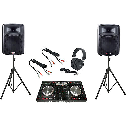 Numark NS6 / Harbinger APS15 DJ Package