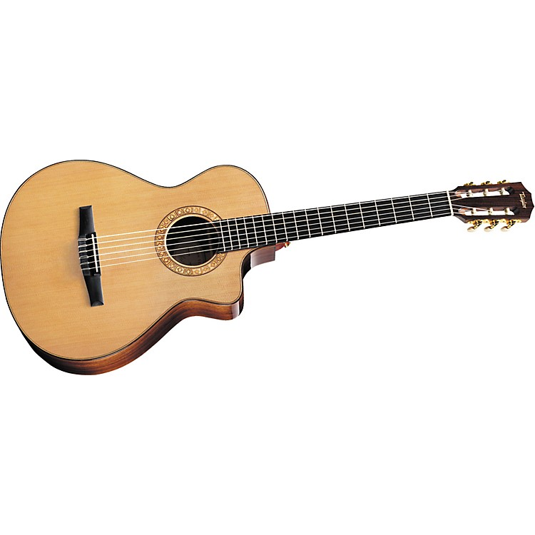 TaylorNS72ce Grand Concert Cutaway Nylon-String Acoustic–Electric Guitar