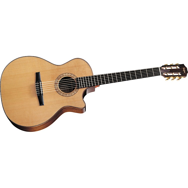 Taylor NS74ce Grand Auditorium Cutaway Nylon-String Acoustic–Electric Guitar (2011 Model)