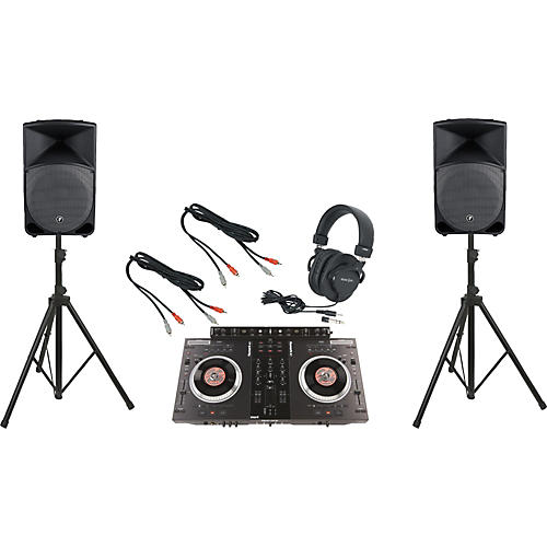 Numark NS7FX / Mackie Thump TH-15A DJ Package