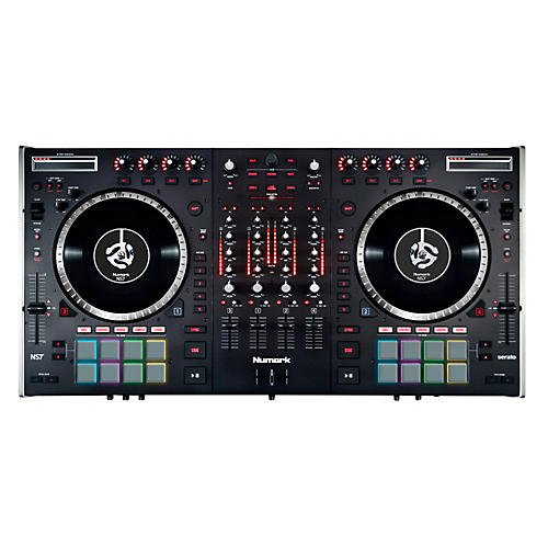 numark ns7ii 4 channel dj performance controller musician 39 s friend. Black Bedroom Furniture Sets. Home Design Ideas