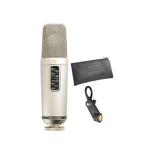 Rode Microphones NT2-A Large-Capsule Studio Condenser Microphone (Original Non-Bundle Version)