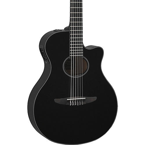 yamaha ntx500 acoustic electric guitar black musician 39 s friend. Black Bedroom Furniture Sets. Home Design Ideas