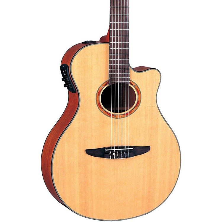 Yamaha NTX700 Acoustic-Electric Classical Guitar Black