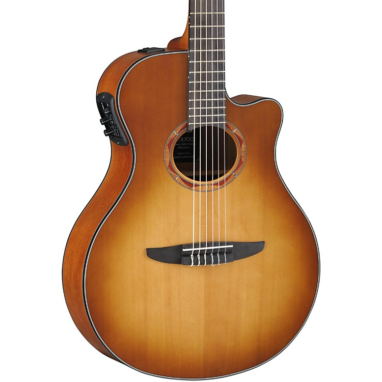 Yamaha NTX700 Acoustic-Electric Classical Guitar Sand Burst