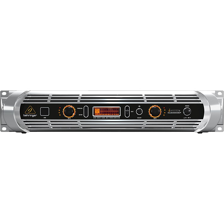 BehringerNU6000DSP INUKE 2CH PWR AMP