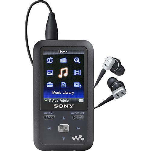 Sony NWZ-S718FBNC Noise-Canceling 8GB Walkman Video MP3 Player