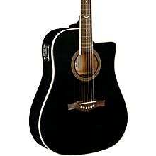 NXT Series Cutaway Dreadnought Acoustic-Electric Guitar Black