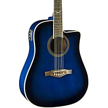 NXT Series Cutaway Dreadnought Acoustic-Electric Guitar Blue Sunburst