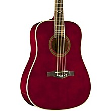 NXT Series Dreadnought Acoustic Guitar Wine Red