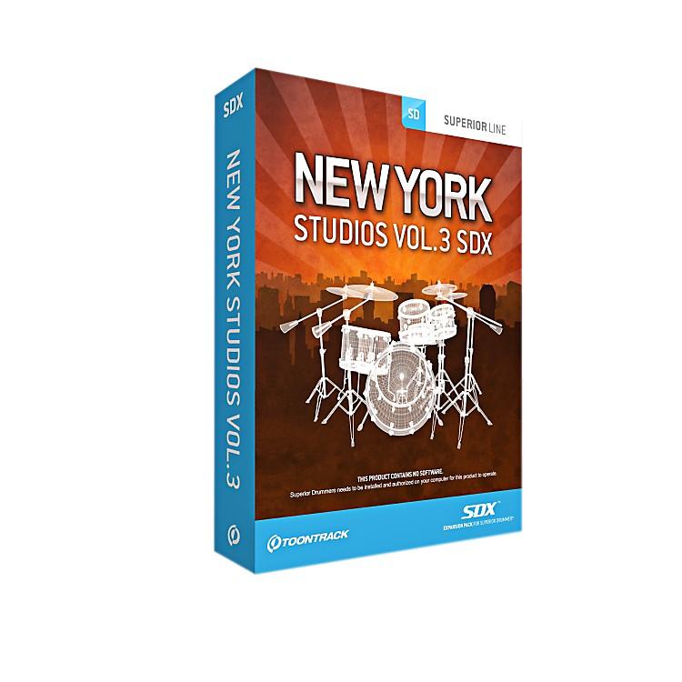 ToontrackNY Studios Vol 3 SDX