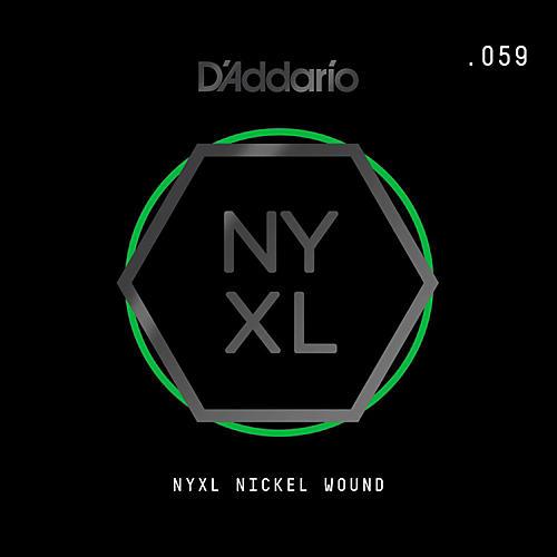 D'Addario NYNW059 NYXL Nickel Wound Electric Guitar Single ...