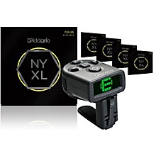 D'Addario NYXL0946 Electric Guitar Strings 5-Pack with FREE NS Micro Headstock Tuner