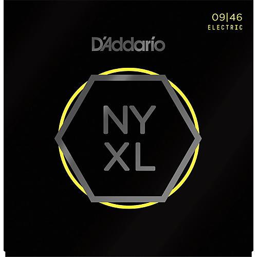 D'Addario NYXL0946 Super Light Top/Regular Bottom Electric Guitar Strings