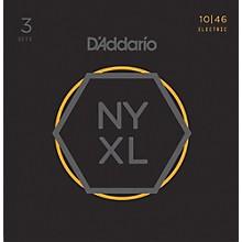 D'Addario NYXL1046 Light 3-Pack Electric Guitar Strings