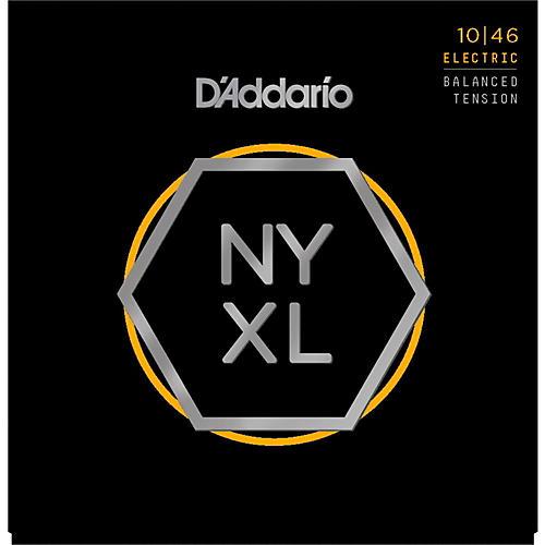 D'Addario NYXL1046BT Balanced Tension Nickel Wound Electric Guitar Strings (10-46)