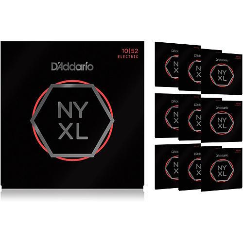 D'Addario NYXL1052 Light Top/Heavy Bottom 10-Pack Electric Guitar Strings