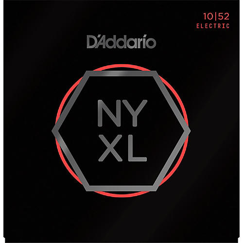 D'Addario NYXL1052 Light Top/Heavy Bottom Electric Guitar Strings-thumbnail