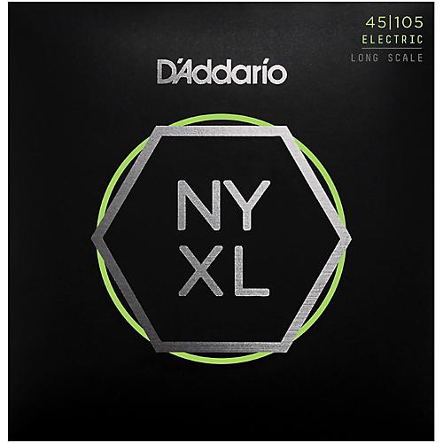 D'Addario NYXL45105 Gauge NPS Long-Scale Bass Strings